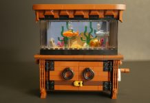 LEGO Ideas Clockwork Aquarium