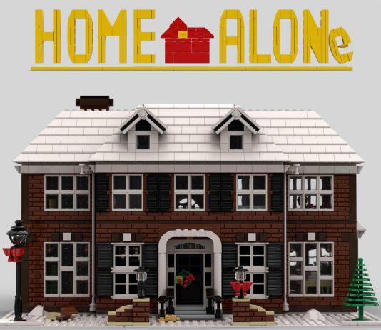 LEGO Ideas Home Alone McCallister's House