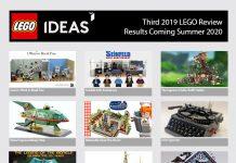 I 12 Progetti LEGO Ideas Qualificati per la Terza Fase di Revisione 2019