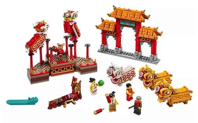 Set LEGO danza del leone