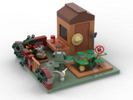 LEGO ideas Untitle Goose Game Achives