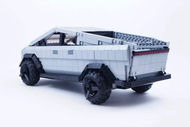 Tesla Cybertruck LEGO ideas retro
