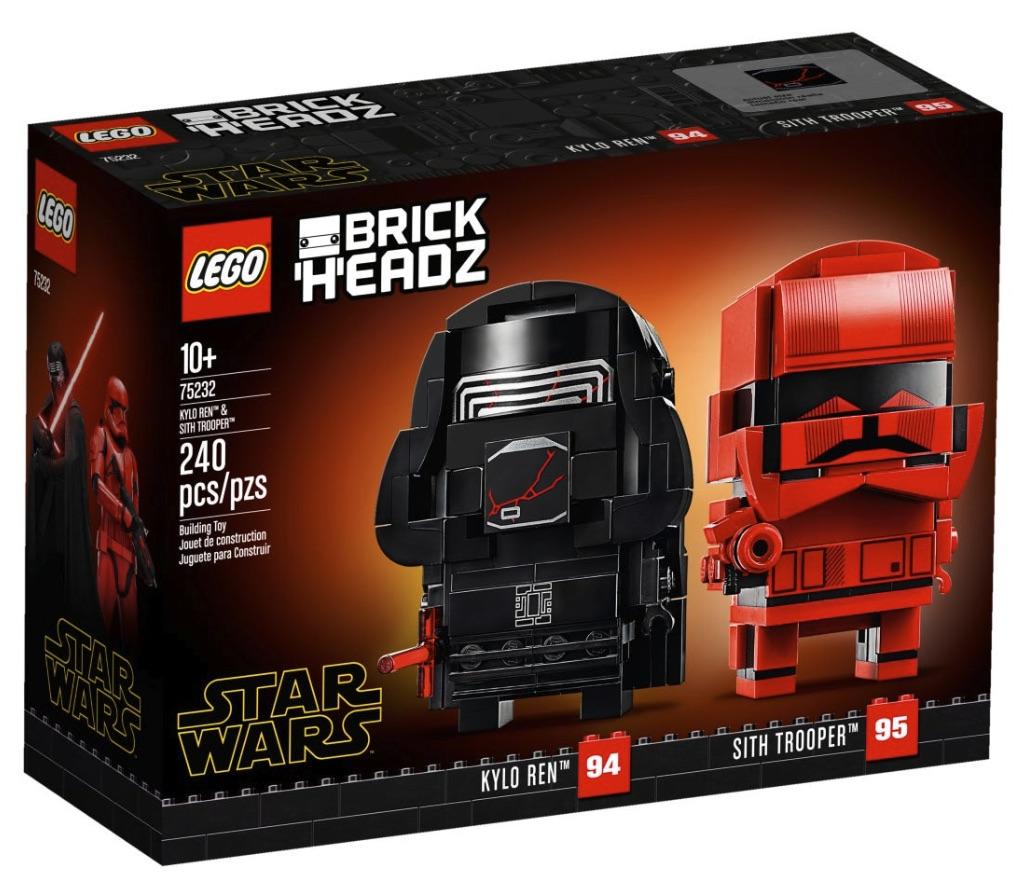 LEGO BrickHeadz Kylo Ren e Sith Trooper (75232)