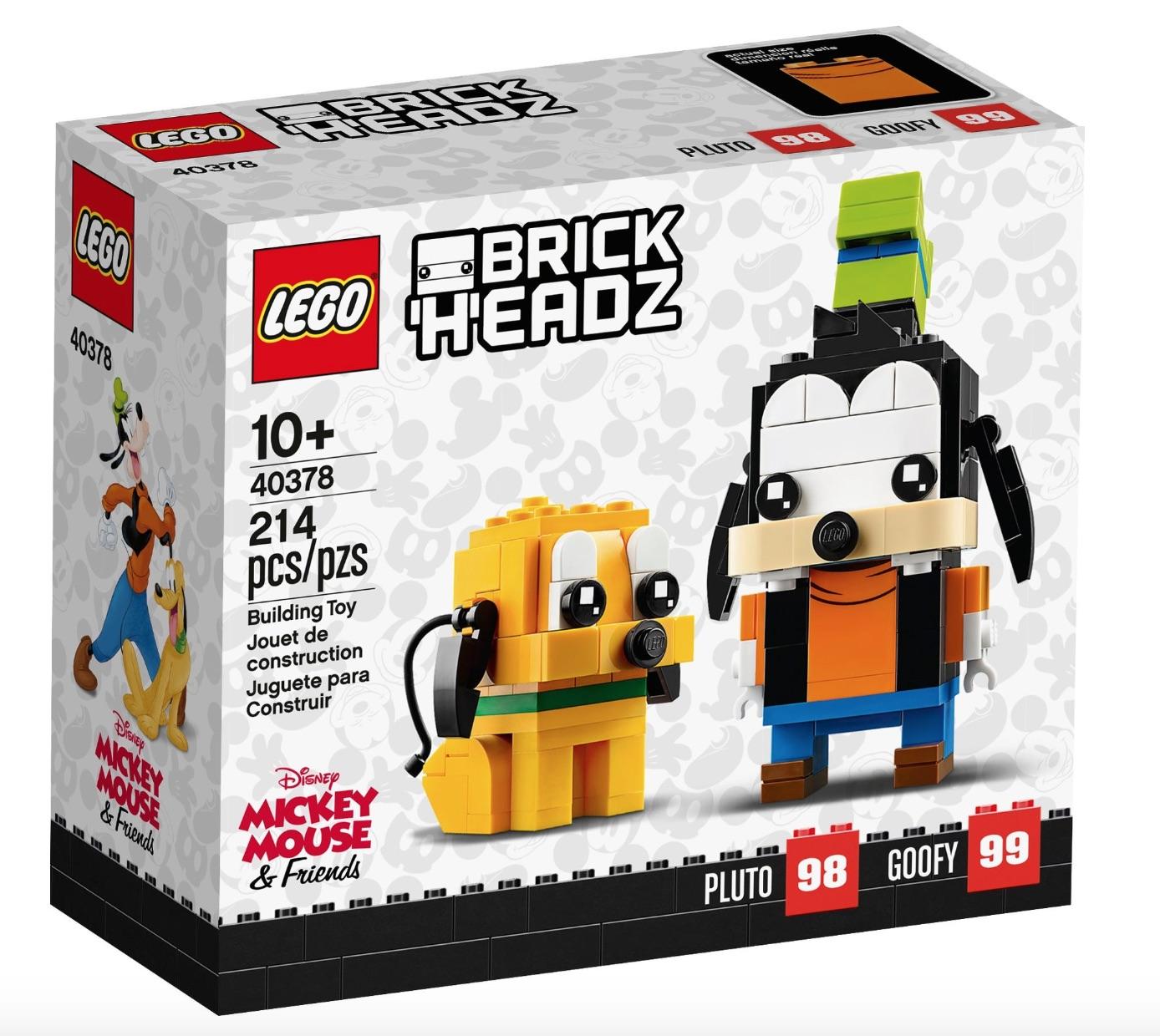 LEGO Brickheadz Pippo e Pluto (Pippo e Pluto)