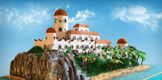 LEGO MOC Fort George