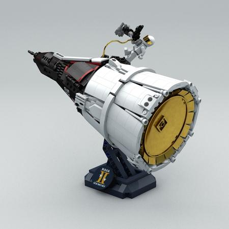 Mini-fig Scale Projecr Gemini 1