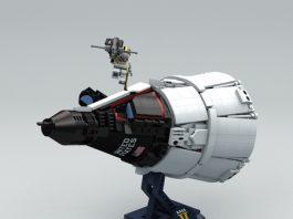 Mini-fig Scale Projecr Gemini