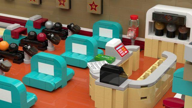 Retro bowling LEGO