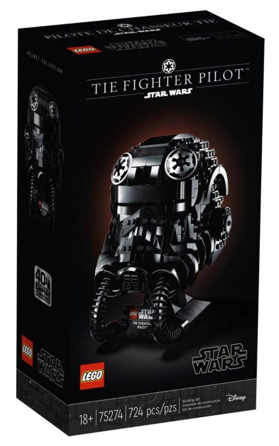 LEGO Star Wars Casco da Pilota di TIE Fighter (75274)