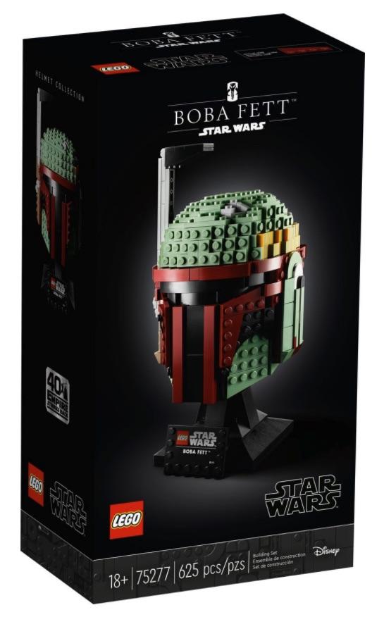 LEGO Star Wars Casco di Boba Fett (75277)