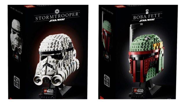 Rivelati i Busti LEGO Star Wars Stormtrooper (75276) e Boba Fett (75277)