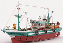 The grat fishing boat