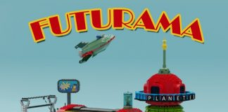 Futurama Planet Express Headquarter, Spaceship and the Crew
