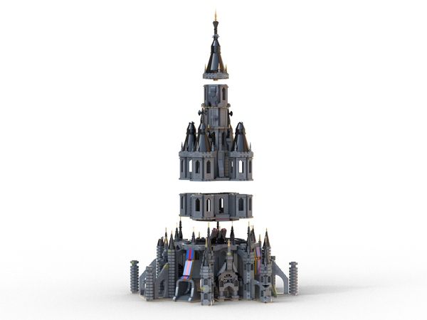 The legend of Zelda BotW - Hyrule Castle
