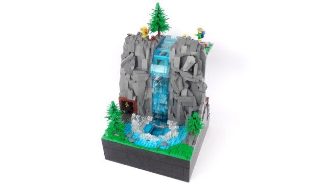 Working Waterfall