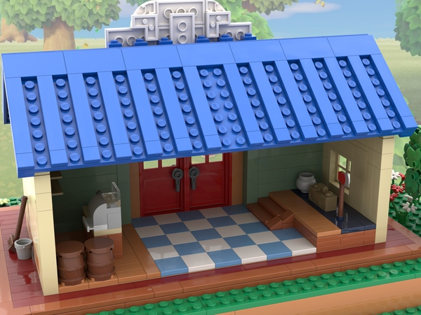 LEGO Ideas: Animal Crossing New Horizons: Nook's Cranny