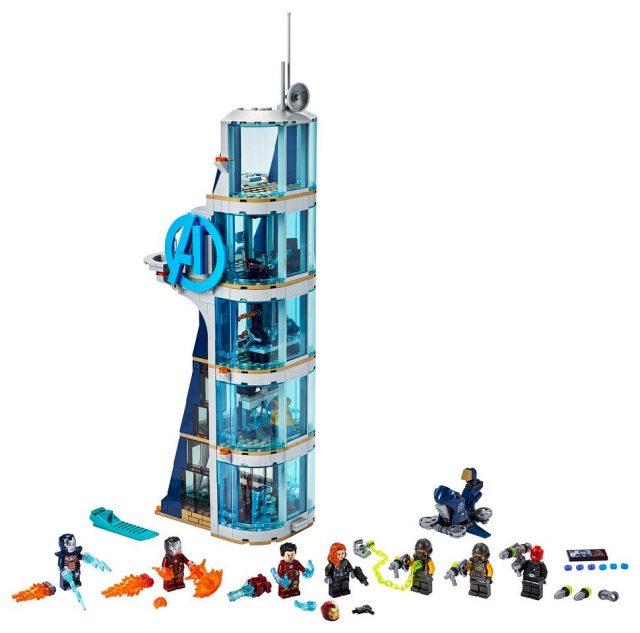 Avengers-Tower-Battle