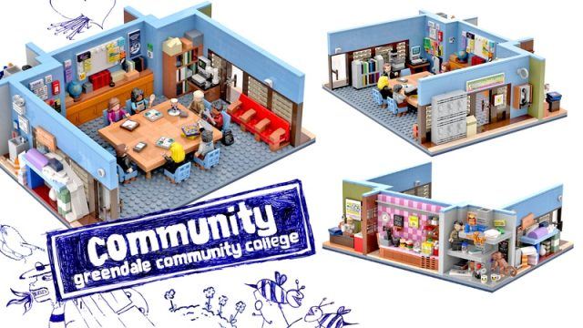 LEGO Ideas: Community – Greendale Community College