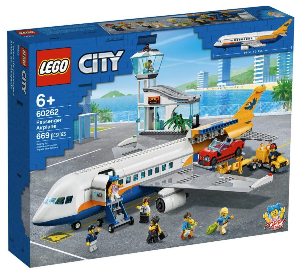 LEGO CIty - Aereo passeggeri (60262)