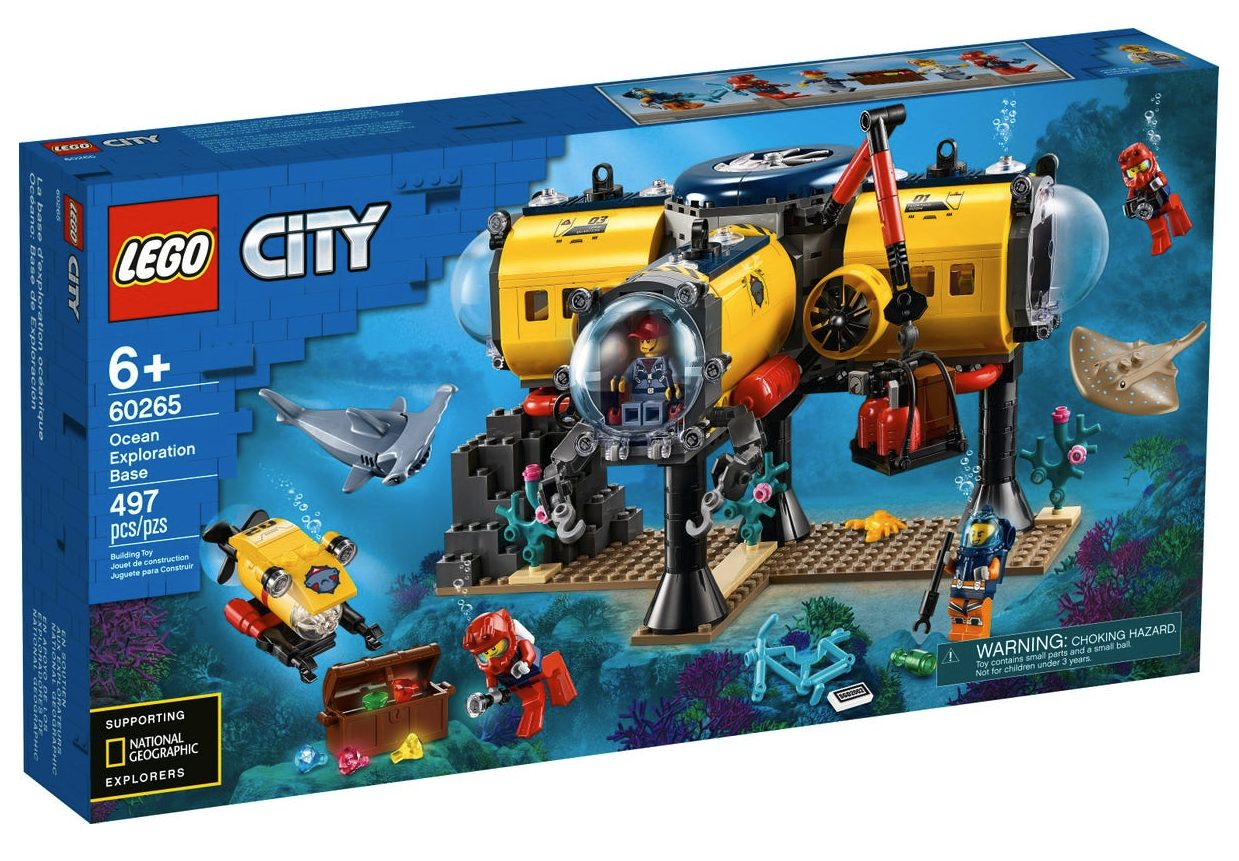 LEGO City - Base per Esplorazioni Oceaniche (60265)