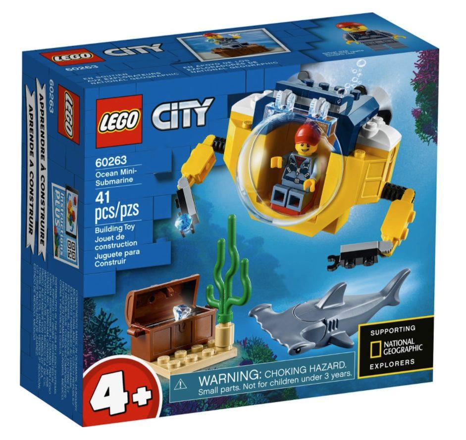 LEGO City - Minisottomarino oceanico (60263)