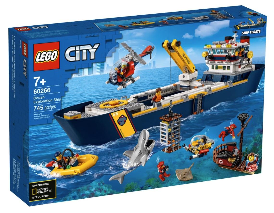 LEGO City - Nave da esplorazione oceanica (60266)