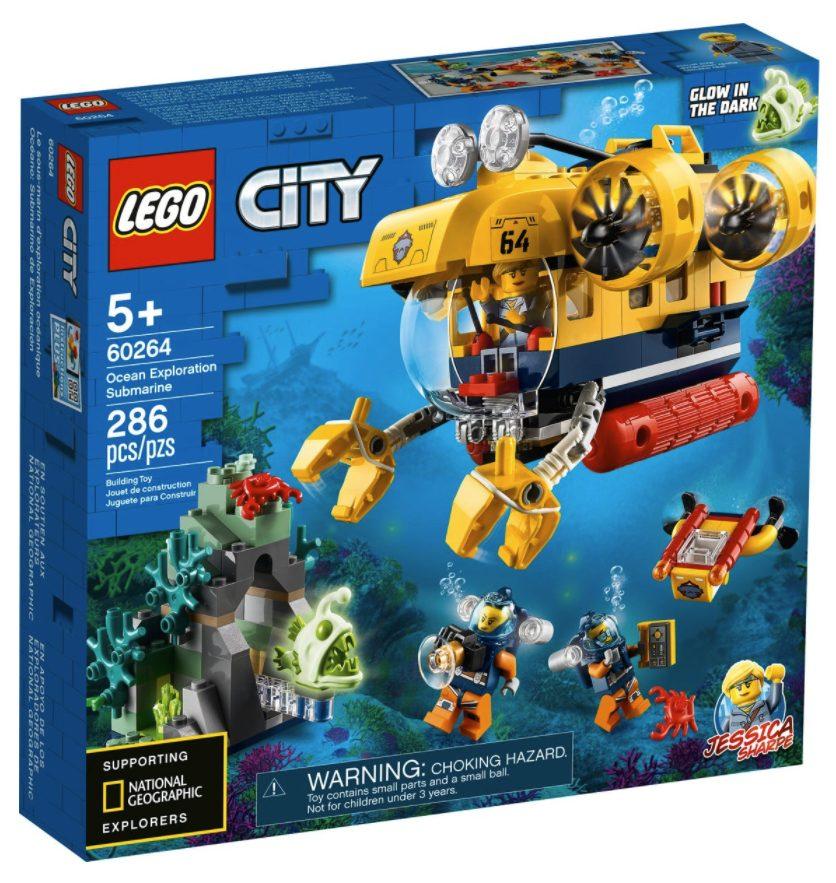 LEGO City - Sottomarino da esplorazione oceanica (60264)