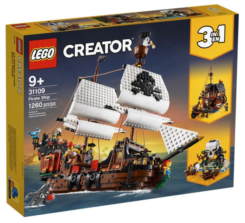 LEGO Creator - Galeone dei Pirati (31109)