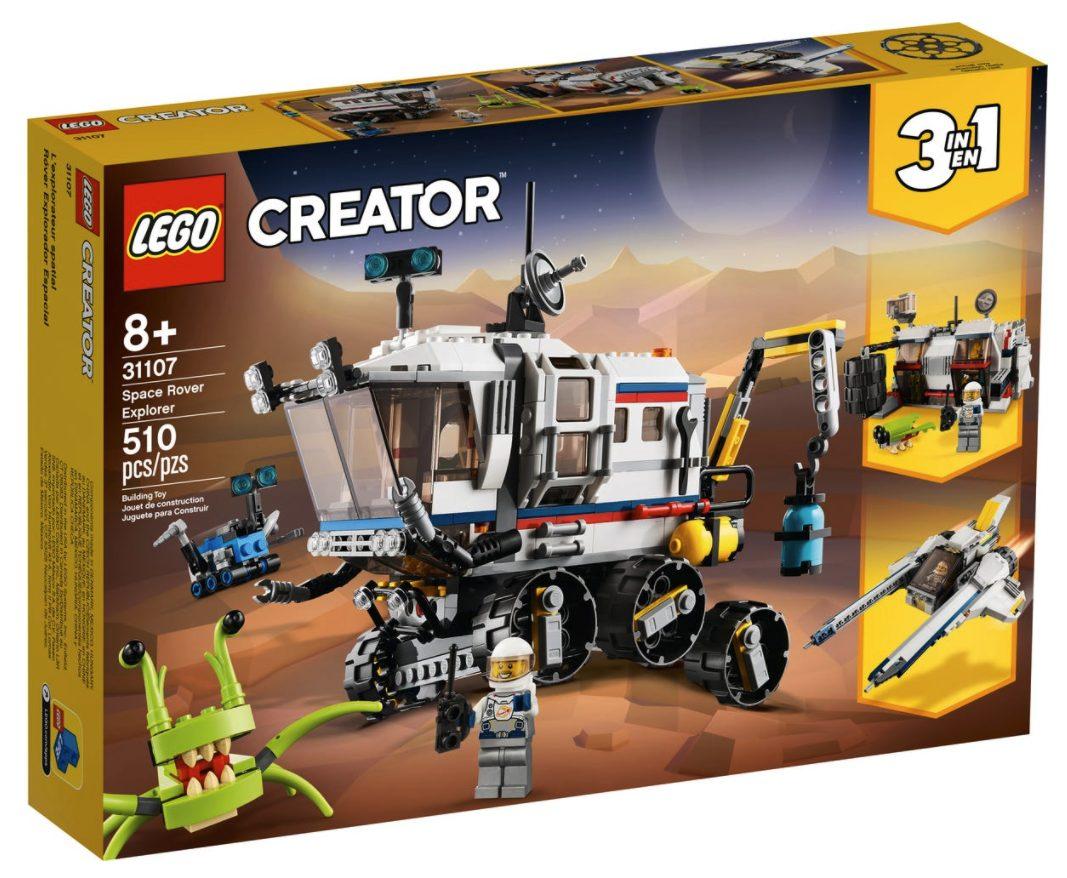 LEGO Creator - Il Rover di Esplorazione Spaziale (31107)