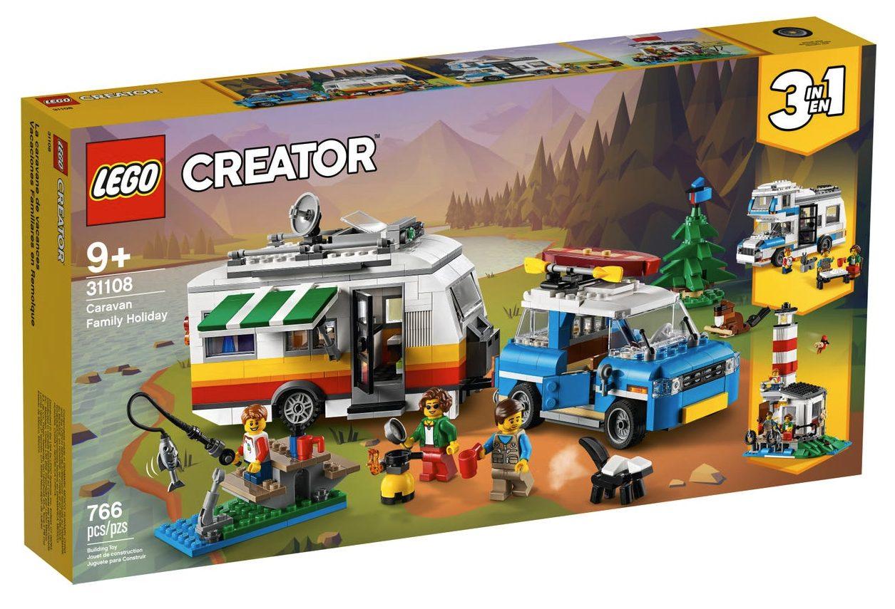 LEGO Creator - Vacanze in Roulotte (31108)