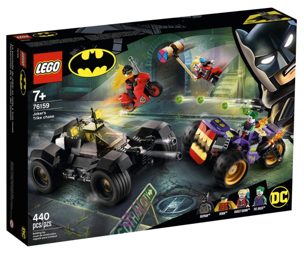 LEGO DC Comics - All'Inseguimento del Tre-Ruote di Joker (76159)