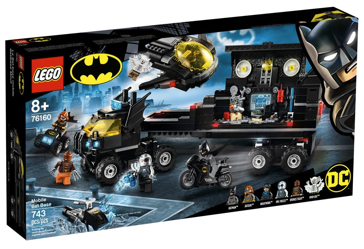 LEGO DC Comics - Bat-Base Mobile (76160)