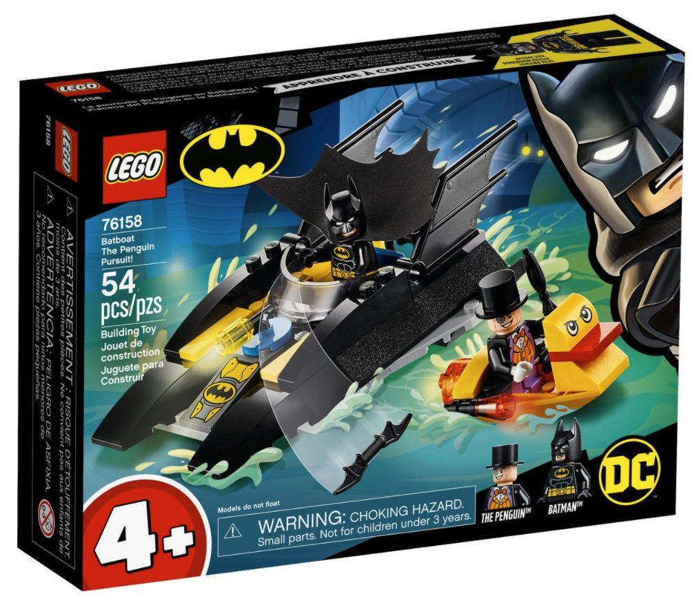 LEGO Duplo Dc Comics - All'Inseguimento del Pinguino con la Bat-barca! (76158)