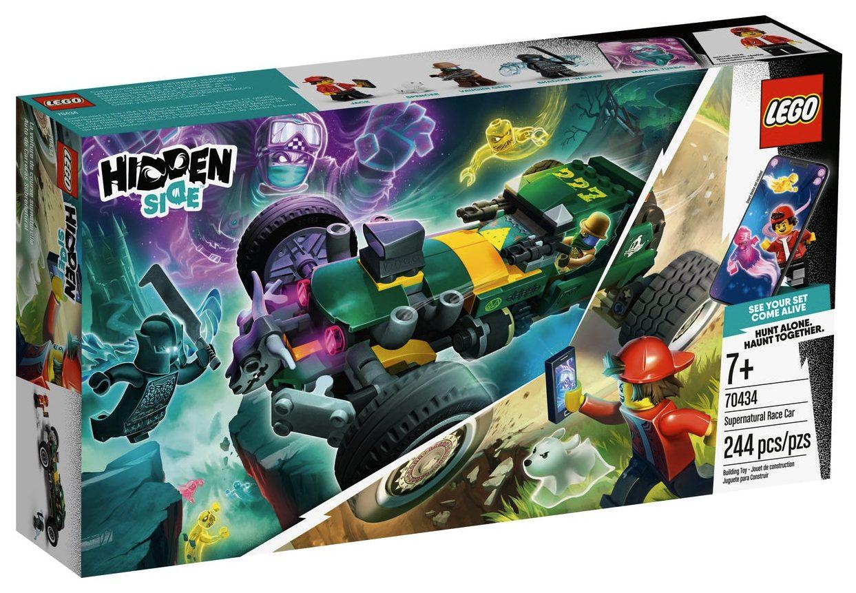 LEGO Hidden Side - Auto da corsa fantasmagorica (70434)