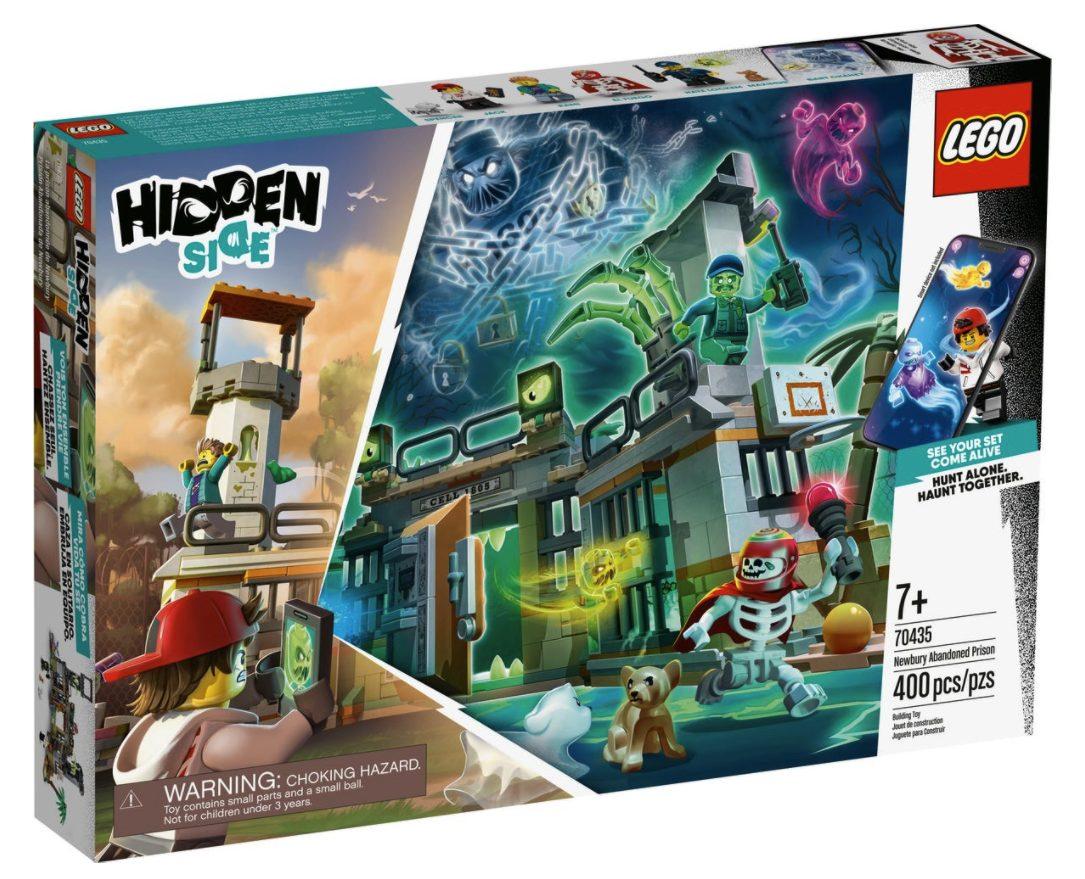 LEGO Hidden Side - Prigione abbandonata di Newbury (70435)