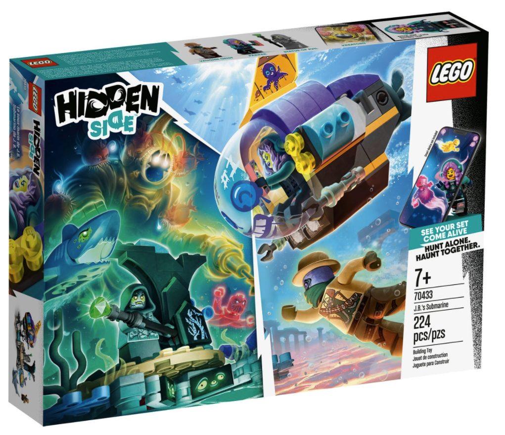 LEGO Hidden Side - Sottomarino di J.B. (70433)