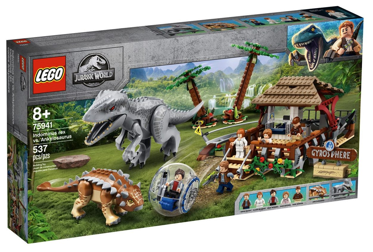 LEGO Jurassic World - Indominus Rex contro Ankylosaurus (75941)