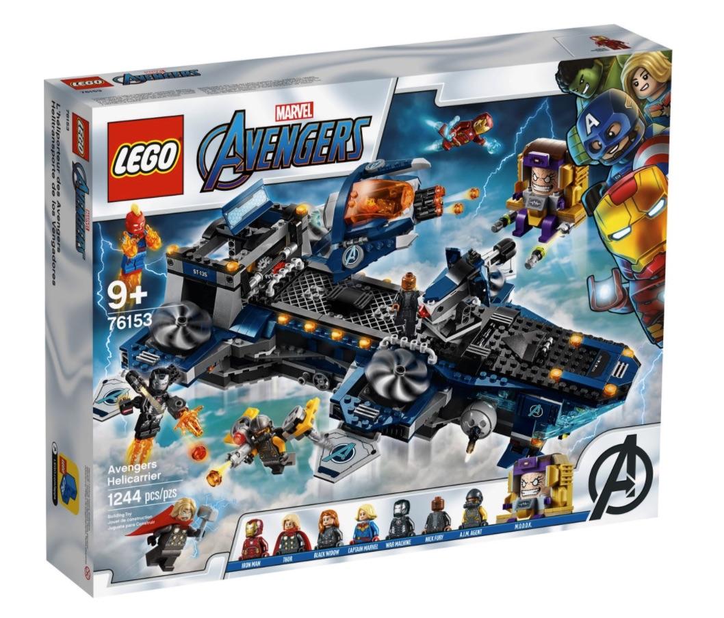 LEGO Marvel - Helicarrier degli Avengers (76153)