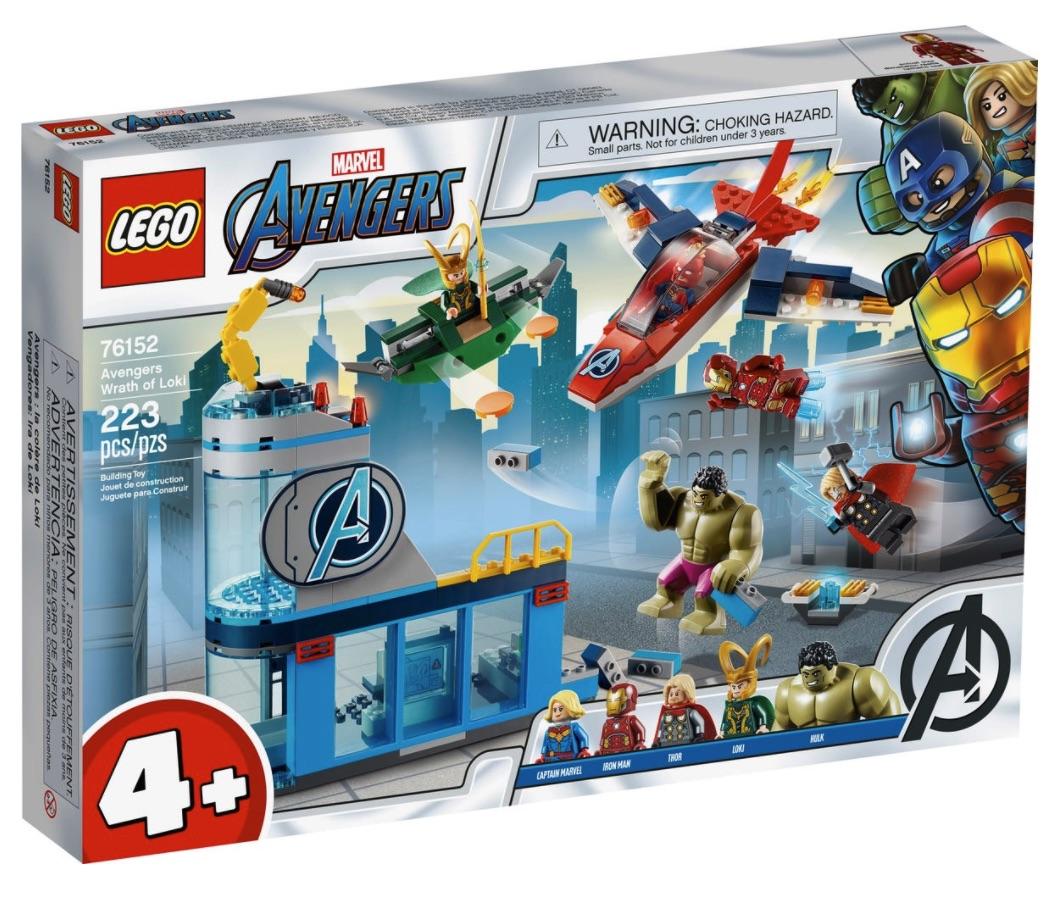 LEGO Marvel - L'ira di Loki degli Avengers (76152)