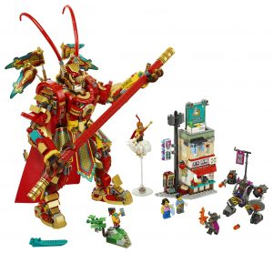 LEGO Monkey Kid - Monkey King Warrior Mech (80012)