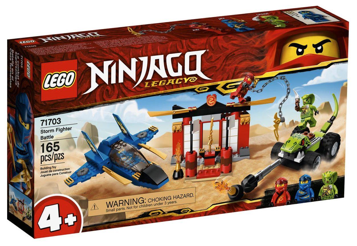 LEGO Ninjago - Battaglia sullo Storm Fighter (71703)