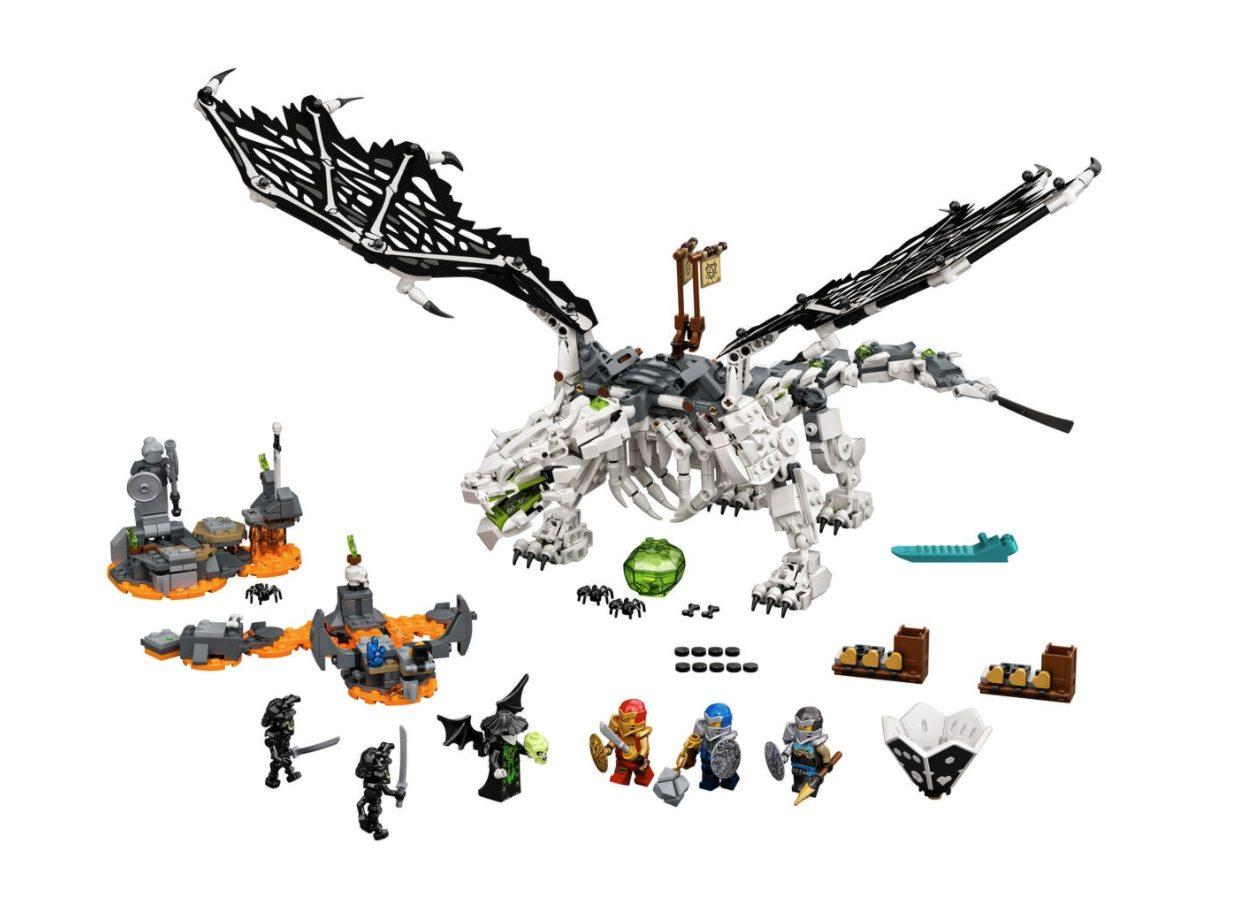 LEGO Ninjago - Drago dello Stregone Teschio (71721)