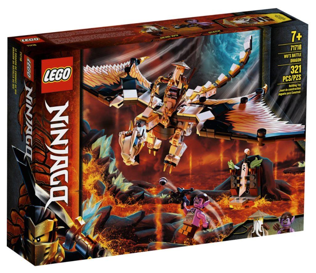 LEGO Ninjago - Dragone da Battaglia di Wu (71718)