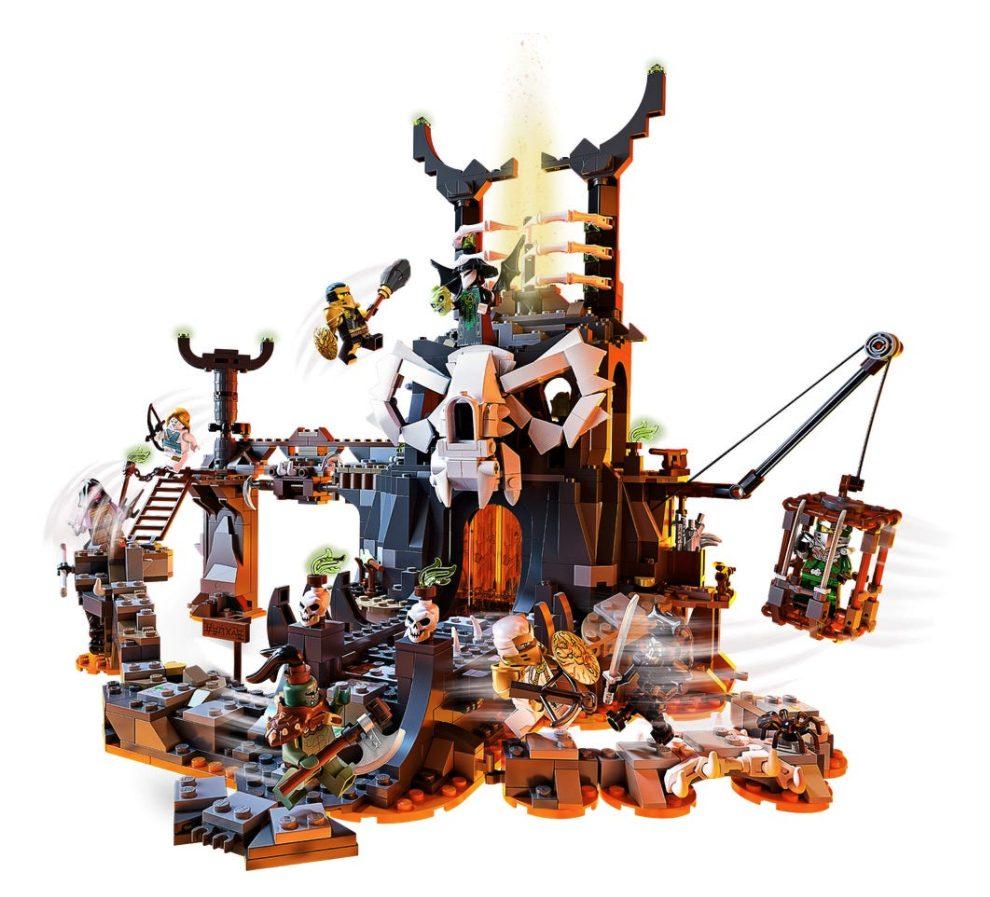 LEGO Ninjago - Le Segrete dello Stregone Teschio (71722)