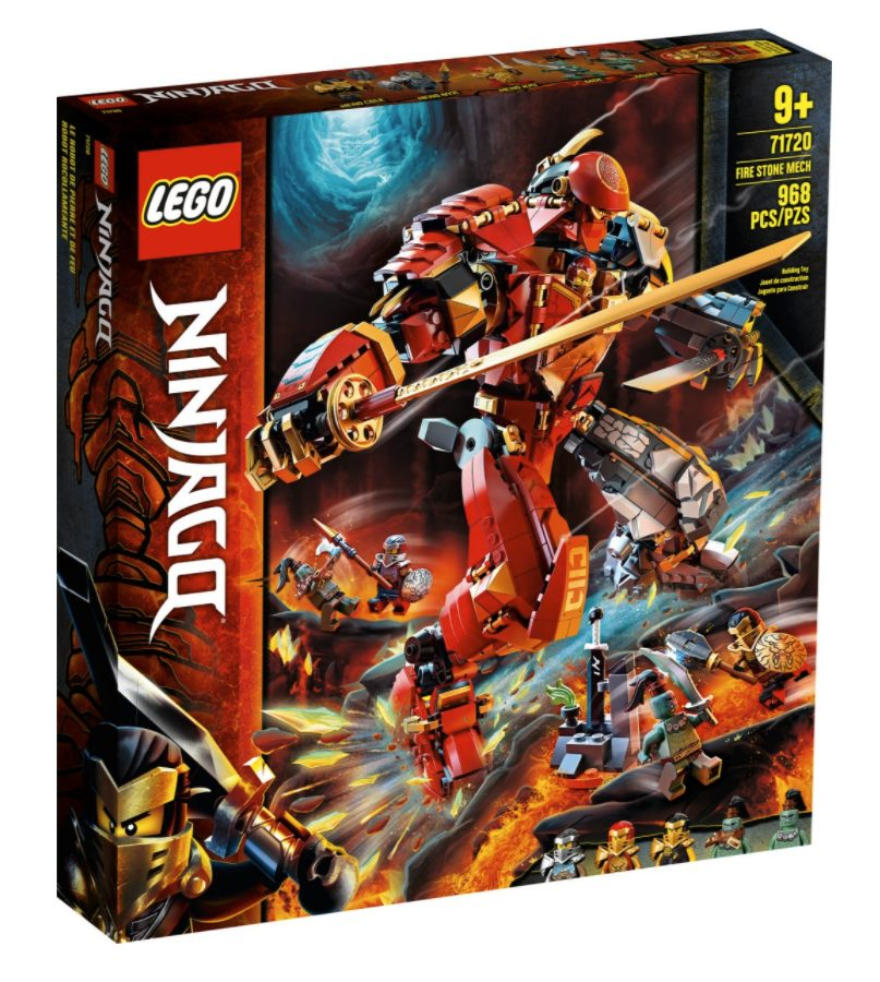 LEGO Ninjago - Mech Pietra-Fuoco (71720)