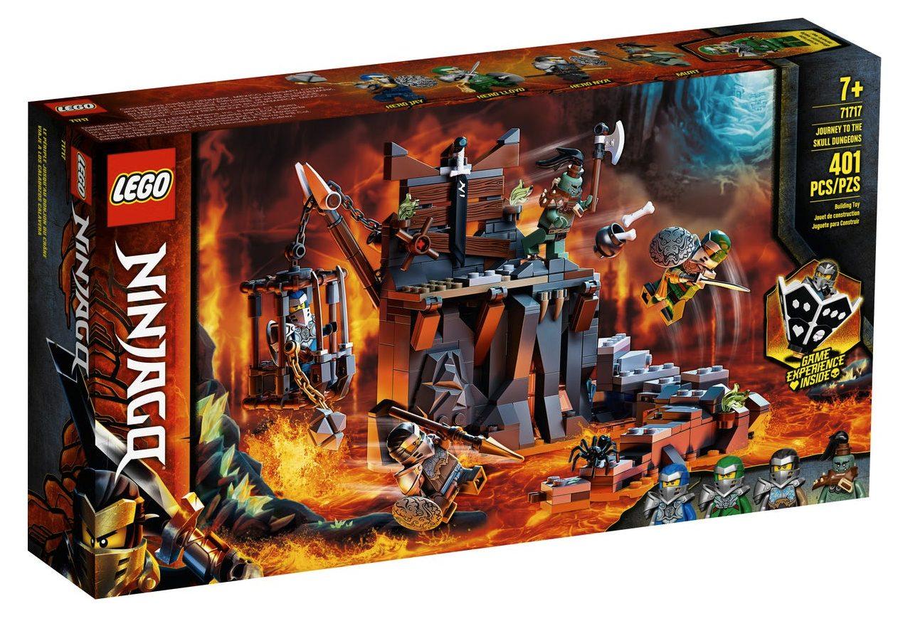 LEGO Ninjago - Viaggio nelle Segrete dei Teschi (71717)