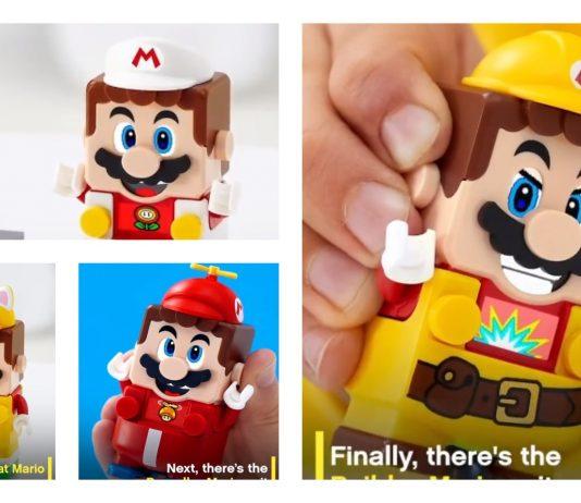 Costumi LEGO Super Mario