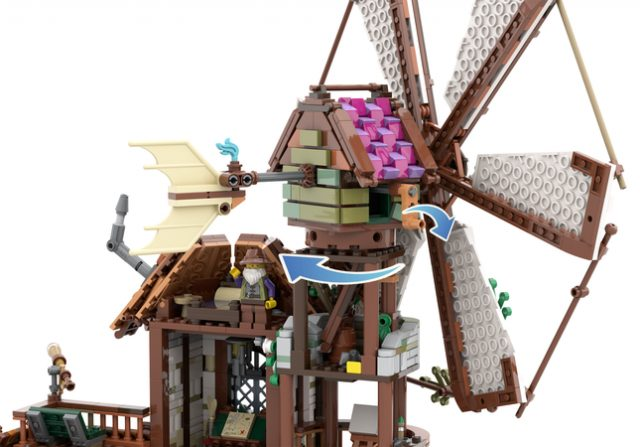 LEGO Ideas: The Mountain Windmill