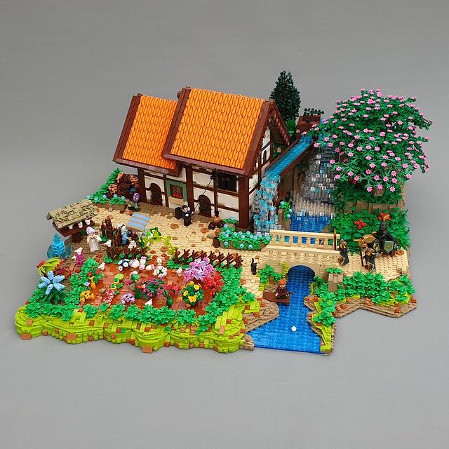 MOC casa di campagna fantasy