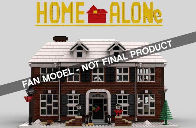 Home alone LEGO